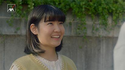 アクサダイレクトの自動車保険CM「妹の一人暮らし」篇で、岡田将生さんの妹を演じていたのは誰ですか?