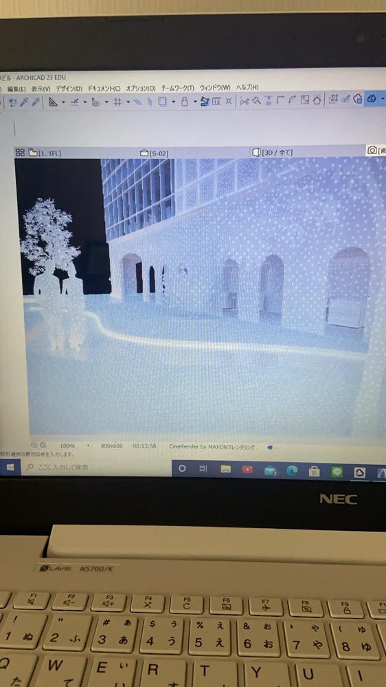 アーキキャドで、レンダリングをしようとしているのですが、何度やってもこの画像で止まります。 あまりパソコンの知識はないのですが、再起動したり、パソコンを最大限軽くしたりと、自分でできるだけのこと...