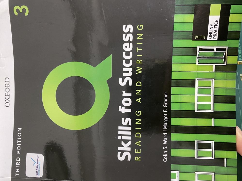 このSkills for Success Reading and Writing 3の解答を見られるサイトはありますか? PDFなどでも可です。よろしくお願いします。
