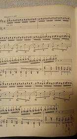 トメ子と申します。91歳です。 ピアノ教室に通っています。 今日のレッスン曲はシューマンのトロイメライでした。 合格でした。優しそうで難しかったです。 次の課題曲がchopinエチュードOp25-6です。 先生は28秒後は爆音で弾いてくださいと仰いましたのでその通り練習しています。 私の楽譜です。 皆さんはこの曲弾けますか?右3度進行を主とした練習曲です。