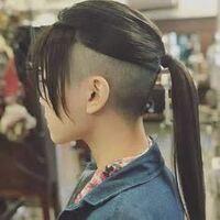 今ツーブロ?の髪型なんですが、刈り上げはそのままで伸ばしてる部分だけでウルフカットは難しいですか?