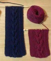 こちらの模様編みの編み図がわかる方 おられませんか? 作り目が36目ということはわかっているのですが… 考えながら作ってみたのですが、いまいちしっくりこなくて… よろしくお願いします!