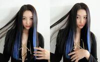 この髪色にしたいのですが、多分カラーエクステ使ってますよね? これってカラーエクステ無しではこういう感じに染めるのは難しいですか??