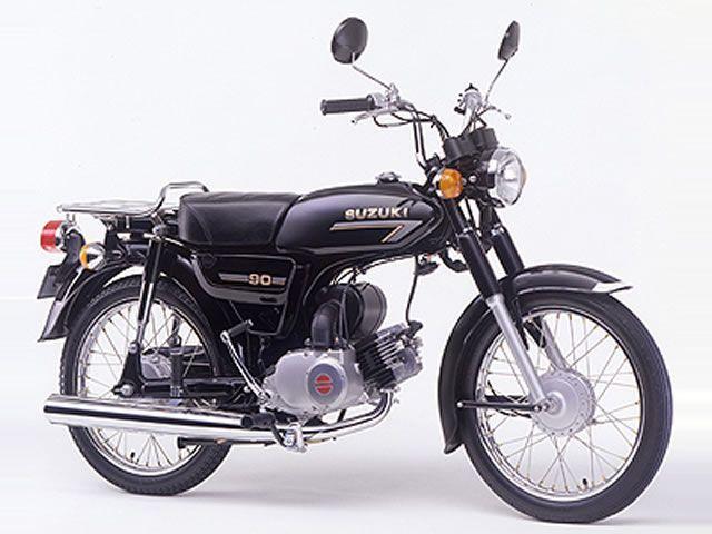 バイクの横型エンジンについて質問です。 ホンダはカブやモンキー、グロム等のMT車用横型エンジンがあるのですが、他メーカーは2ストでしたがヤマハYB90スズキK90等が絶版してしまいスクーター用し...