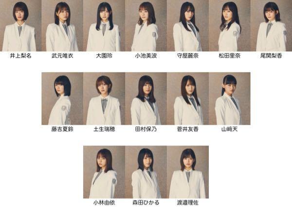 櫻坂46の2ndシングルのフォーメーションを予想してみたのですが、どう思いますか? 櫻エイトが...
