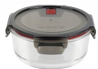 蓋付耐熱ガラスレンジ容器について 径20×高さ10cm 重量:900g 容量:2.2Lの国産メーカー製造販売の耐熱ガラス(蓋無)を所持していて、レトルトソースの中身をレンジで温めたり、丼ものレンジ調理で丁度良いサイズです。これより小さくても構わないぐらいです。ツヴィリング ZWILLING® Gustoコンテナ (丸型 1300ML)容量:1.3 L 直径:19.5 cm 高さ:8.5 cm...
