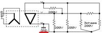 三相3線式のトランスの結線図で、1線にアース(GND)がありますが、これを見ると、地絡してしまうんじゃないのかなって思ってしまいます。 どうして地絡しないかおしえてもらえるでしょうか。