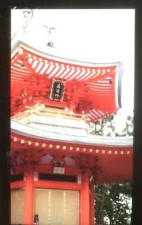 この建物はどこにあるものですか? 5年以上前に携帯電話で撮影したものなのですが、どこで撮影したかを失念してしまいました。 場所が京都だということは間違いないと思うのですが……。 ご存知の方おられましたら教えて頂きたいです。