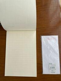 卒業式で手紙を両親に渡しますが、便箋と封筒はこれで大丈夫ですか?