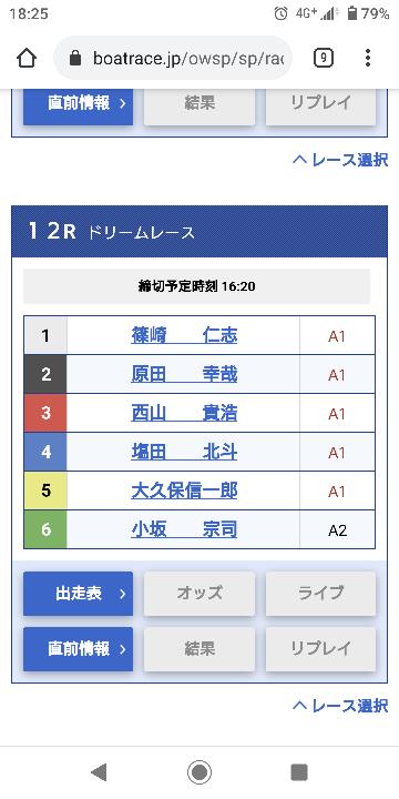 明日の福岡のドリームは1234で決まりですか?