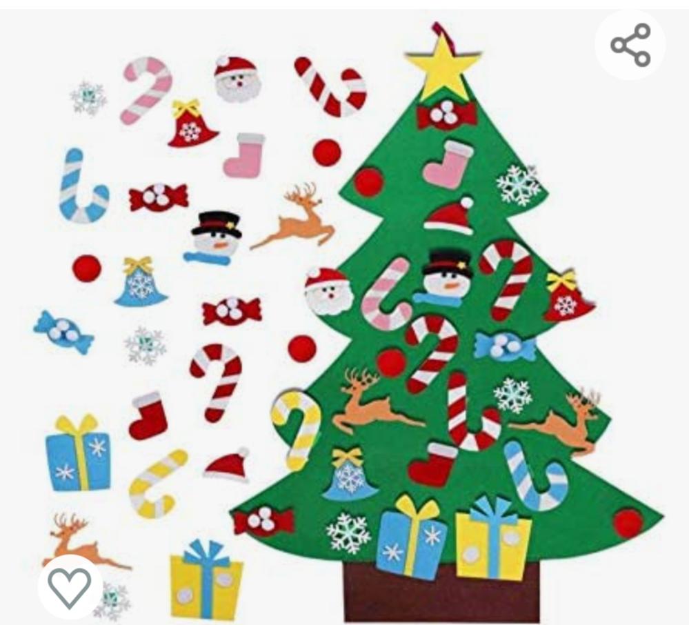 クリスマスツリーにある、 アルファベットの「J」、ひらがなの「し」みたいな飾り。何をかたどった物ですか?