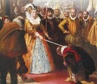 エリザベス1世とドレーク提督は、恋仲だったのですか? 祖国であるイギリスのためにバージンクイーンを貫いたというエリザベス1世女王、そして、それに仕えたフランシス・ドレーク提督。  エリザベス1世の命によ...