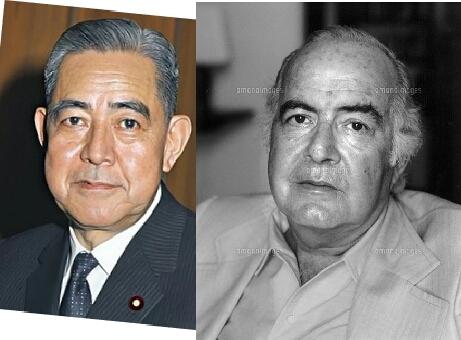 サミュエルバーバーと佐藤栄作首相 いかがですか