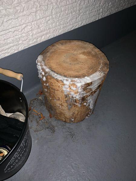 キャンプで使う薪割り台を誤ってコンテナ内で保存した為 白カビが生えてしまいました。 まだ使用したいのですが、白カビの除去としてはどのようにすれば良いでしょうか?? すいませんが、ご教示願います。