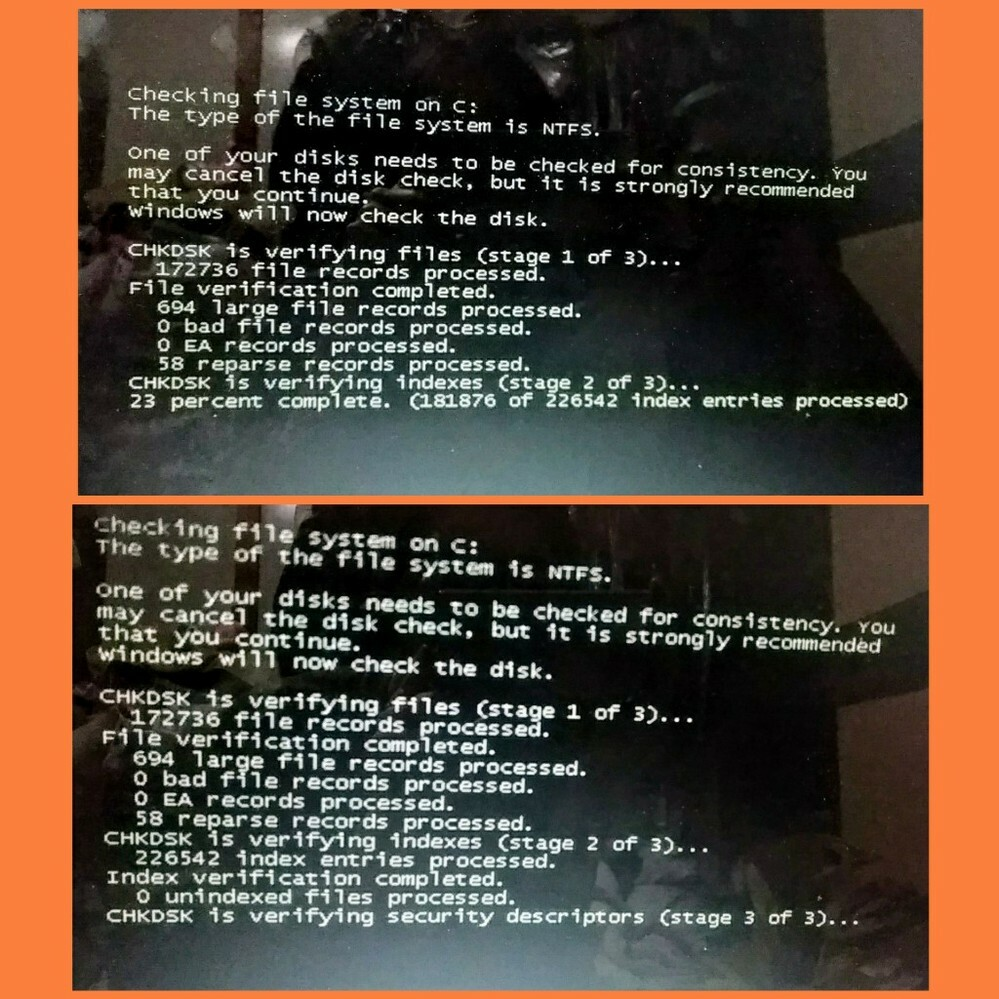 ノートパソコンをしばらく放置していると、カーソルが固まるようになりました。 仕方なく強制シャットダウン(再起動?)をすればまた動くようになっていたのですが、今日はこのような画面が出てきました。 10数年前のWindows vistaで無理やり作業を続けていたから、ついに寿命が来たのでしょうか? もうこのPCで普通に作業ができない場合、何でしょう……? 家電量販店にでも持っていって中の脳みそ...