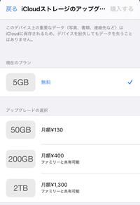 iPhoneのストレージがいっぱいなので画面収録が出来ません、購入したいのですがこちらの130円のプランを購入したら改善しますでしょうか