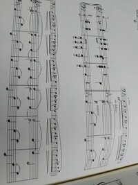 ラヴェル作曲 ピアノ独奏版の「ラヴァルス」について、 楽譜が3段になるところがありますが(Vellesのところから)、全部を弾くのは困難と思われますが、どういう指使いで弾きますか? 教えてください。