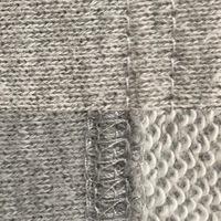 表 (写真上)直線縫いで、裏 (写真下)裁ち目かがり縫い?のミシンのやり方教えて下さい。