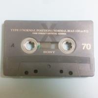このカセットテープですが、型番が書かれていないのですが、どんな型番でいつぐらいに販売されていたテープだったのでしょうか? メーカーがソニーとだけは分かってます。