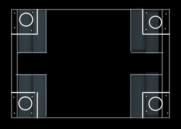 カラーボックスのキャスター取り付けについてです。 縦置きで使用している3段ボックスにキャスターを直接取り付けようと思っています。 この場合は側面の板と底板の段差を薄い板などで埋めて、そこにキャスターを取り付ける方法で大丈夫ですか? 画像↓のイメージです。 全体で20kg強くらいの分を収納しており、キャスター1つの耐荷重10kgのモノの使用を考えております。 詳しい方がいらっしゃいまし...