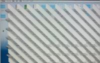 iMac(2015年式)が突然こんなになってしまいました。対処法はありますか?