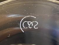 ワイングラスの底の画像なのですが、どこのメーカーかご存知の方はいらっしゃいますか?