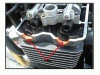 モリワキの耐熱シーラントは、クランクケースカバーに使うガスケットとして使用できますか? モリワキ耐熱ガスケット https://shop.moriwaki.co.jp/ec/detail/?product_id=753  ZRX1100の矢印の部分に塗るガスケ...