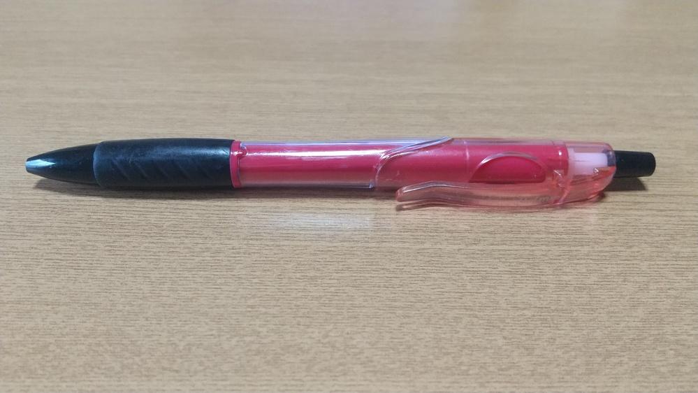このボールペンが どちらの何と言う商品か教えてください。 以前 教習所で粗品として頂いたのですが教習所名しか書いておらず 社名も商品名もかいていません。 ご存じの方おりましたらお願い致します。