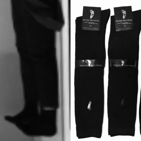 靴下 靴下は、白と黒どちらが好きですか??? ちなみに、私は靴下は黒が好きです。ズボンの時はクルー丈で、スカートの時は膝下丈を主に履いています。
