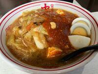中本で蒙古タンメンの麺を半分にして、ゆで卵とチャーシューを付けて、半ライスを頼むというのはどう思いますか?