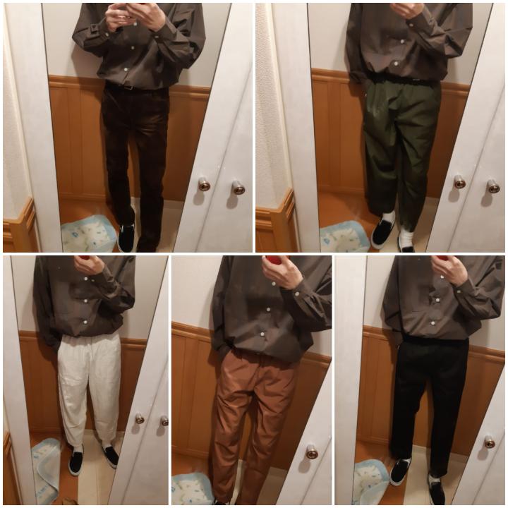 大学生男子です。シャツのタックイン初めてしてみたんですが、どれがいいと思いますかー?