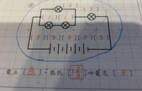 中学受験の理科です。 この図で、どうして抵抗が「1と2/3」になるのか教えてください!!