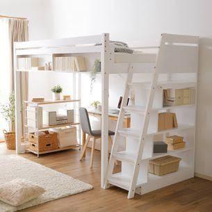 家具を買おうと思っているのですが、机が内側で入る本棚に囲まれているものってないですかね?(ユニット) 調べてもなかなか理想のものが無くて… 2階がベットになっているものは多かったです。(写真参考) 良