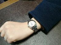 メンズでレディースサイズの腕時計の着用はアリですか? 当方、腕が細いのでレディースサイズの小ぶりのグランドセイコーを買いたいのですが、変ではないですか?