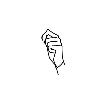 手を描く練習をしているのですが、写真の手はおかしいですか? いつもより少し上手く描けると自己満してしまって、 普通なのか下手なのか自分では分からなくなってしまいます。 なので皆さんの意見をください... 自分は少し変だと思っているのですが、どこを直せばいいか分からず、 困っています。 この手は普通か下手か、また、どこを直せば良いか、を 教えてください。