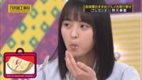 乃木坂46「乃木坂工事中」  遠藤さんがクリームを付けちゃっていますが 真夏くんとれなちの後釜を狙っていますか?