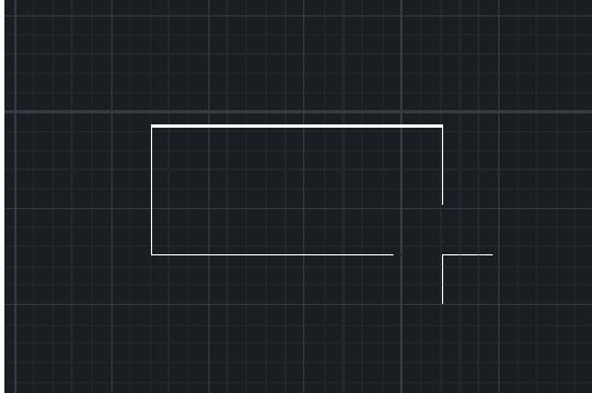 AutoCADについての質問です。 長方形等の図形を描く際、二点目を決めるまで下記画像のようにラインが出てくるかと思うのですが、 何かしらのシステム変数の値が変わってしまったのか、一点目を押さえても何も表示されず、二点目を決めるとそのまま長方形が作図されるようになっています。 (表現が難しいのですが‥) どのようにしたら画像のように、作図途中に四角形が表示されるようにできますでしょうか。 宜しくお願いいたします。