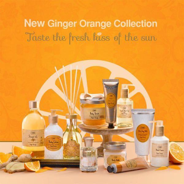 500枚! サボンのジンジャーオレンジ どんな匂いですか?