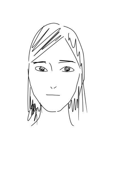 顎が長いタイプの面長メイクや髪型を知りたいです! 私は顔全体に余白が大きいタイプの面長です。(画像は自撮りをなぞってみたものです…) それをごまかせるメイクを知りたいのですが、面長メイクで調べて...