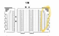 滝沢歌舞伎の新橋演舞場公演1階の17列だったのですが、小判は貰えますか??また、下図の丸の位置って見ずらくないですか?