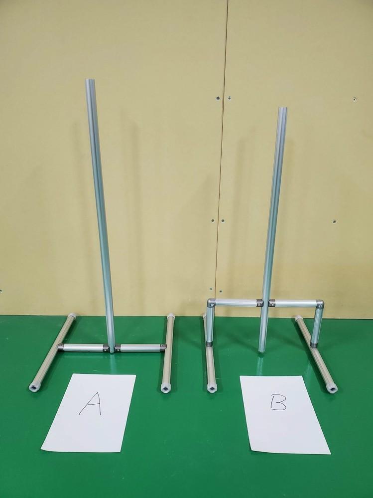 フレームの構造と強度について アルミ材を「A」と「B」の形状で組み立てた場合、Bの方がしっかりとしたフレームとなります。 なぜしっかりするのでしょうか? ど素人にわかるよう、優しく教えて頂けると助かります。