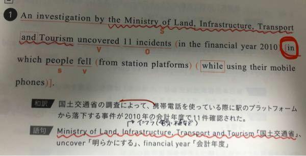 英語の関係代名詞の役割 画像の文のin whichはどこを修飾する役割を果たしているのですか? in incident…?それともin 2010…?