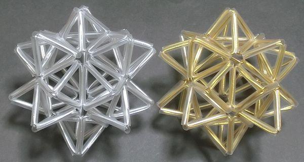イラレ で20角星をつくりたいのですが、どのように制作すればよいでしょうか。 20角星は、以下の画像のような多面体です。