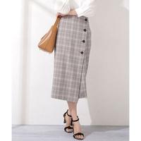 グレンチェックのタイトのロングスカートは今年2021年春にはもう時代遅れでしょうか。?? 着ようか迷ってます。、