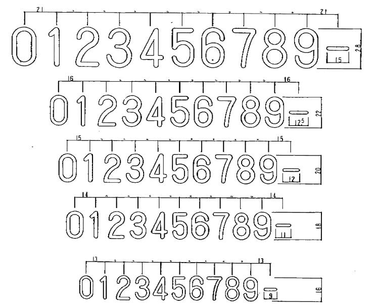 フォント名を教えて下さい。 かなり探したのですが1と7が合いません。 丸ゴシック体系だとは思いますが見つけられませんでした。 有料でも構いません。宜しくお願い致します。