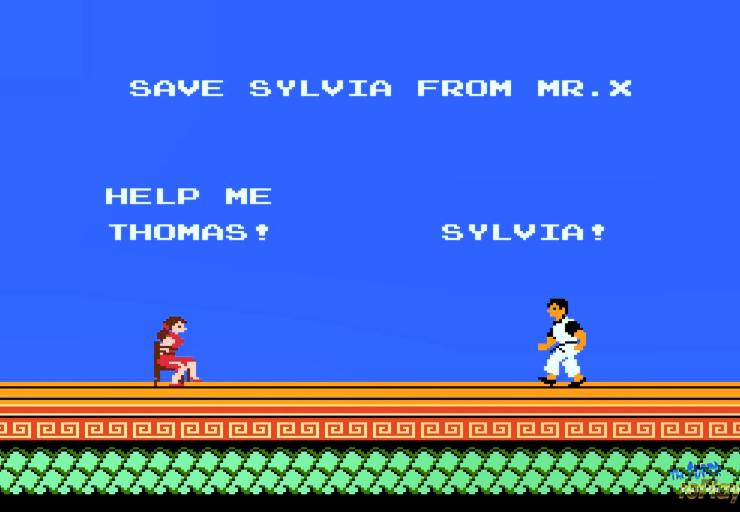 スパルタンXのこのシーンが意味わかりません。 シルビアを見つけたのになぜか主人公が前に進んでいかないのです。 ほんで誰かの気色悪い笑い声が聞こえます。