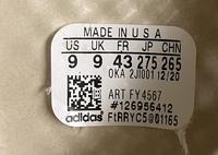 adidasのYZY FOAM RUNNER をスニーカーダンクにて購入したのですが、靴の底にサイズ表記などが記載されているシールが貼ってあって、 そこにQRコードがあったのでQRコードリーダーで読み取ったのですが、アディダス関係のサイトには繋がりませんでした。 これは正規品では無いという事でしょうか?