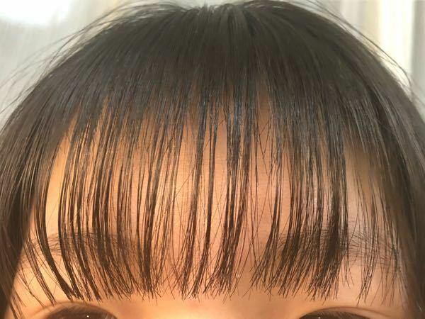 よく女の子がする前髪ってこんな感じですか? アドバイスください!!