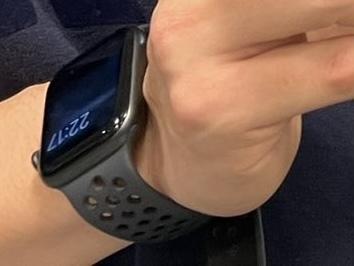 このApple Watchのモデルわかりますか?