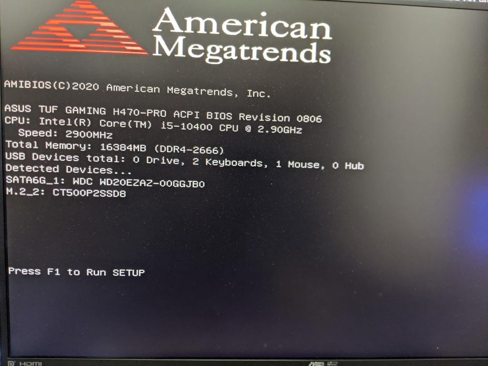 自作PCです。初心者です。CPUはインテルでマザボはASUSです。その他は省きます。 PC立ち上げると毎回下記画像にてBIOSからブートメニューを選択して立ち上げている状態です。FPSゲームもネ...